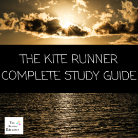https://www.teacherspayteachers.com/Product/The-Kite-Runner-Complete-Study-Guide-4318733